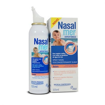 Nasalmer Hipertónico Bebés Spray Nasal Suave 125ml
