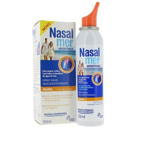 Nasalmer Hipertónico Spray Nasal Descongestionante 125ml