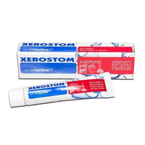 XEROSTOM SUSTITUTO SALIVAL GEL 25ml.