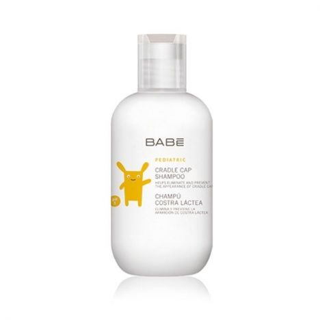 BABE PEDIATRICO CHAMPU COSTRA LACTEA 200ml.