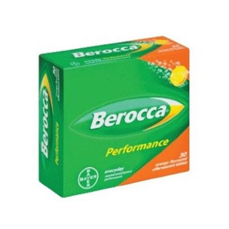 BEROCCA PERFORMANCE 30 COMP. EFFER. NARANJA