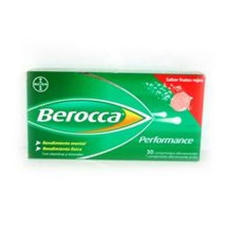 BEROCCA PERFORMANCE 30COMP. EFFER. FRUTOS ROJOS
