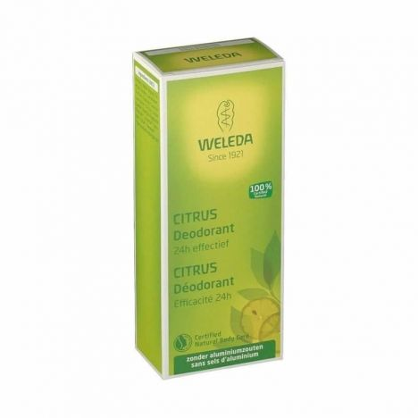 Weleda Desodorante Citrus Spray 100 ml