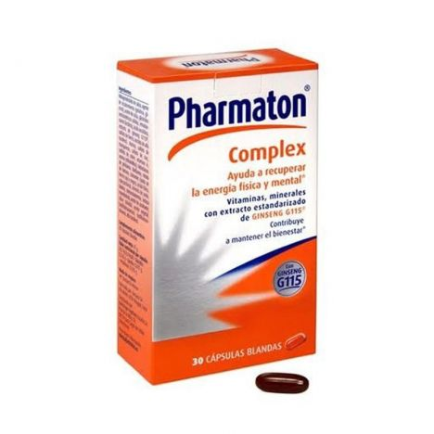 Kneipp Pharmaton Complex 30 Cápsulas
