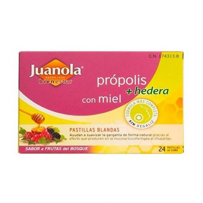 Angelini Juanola Propolis Miel y Hiedra Sabor Frutos Del Bosque