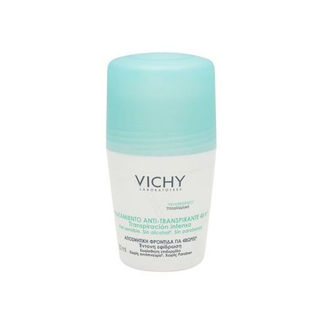 Vichy Hombre Desodorante Roll-On Antimanchas 48H 50 ml