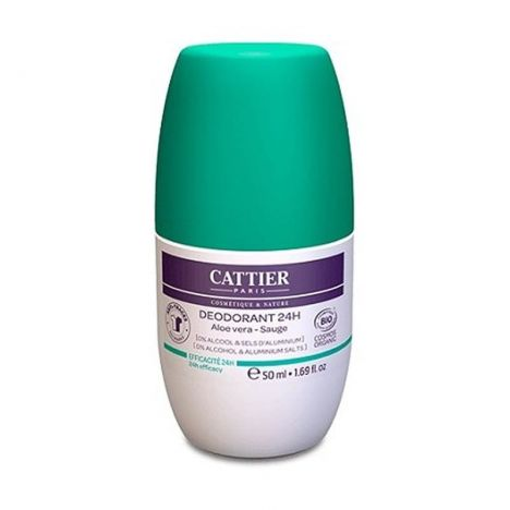 Cattier Desodorante 24H 50ml
