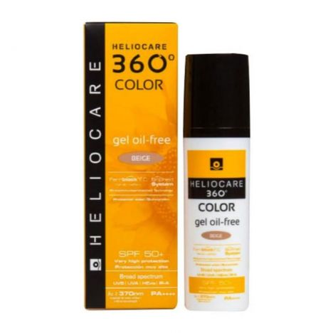 Heliocare 360 Gel Oil Free SPF50 Beige 50ml