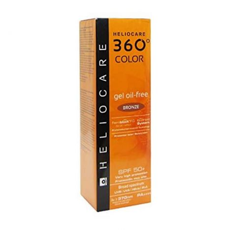 Heliocare 360 Gel Oil Free SPF50 Bronze 50ml
