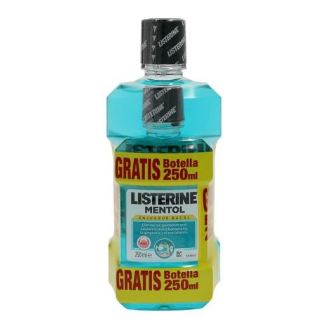 Listerine Mentol Pack 500+250 ml