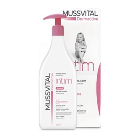 Mussvital Dermactive Gel Intimo Junior 250 ml