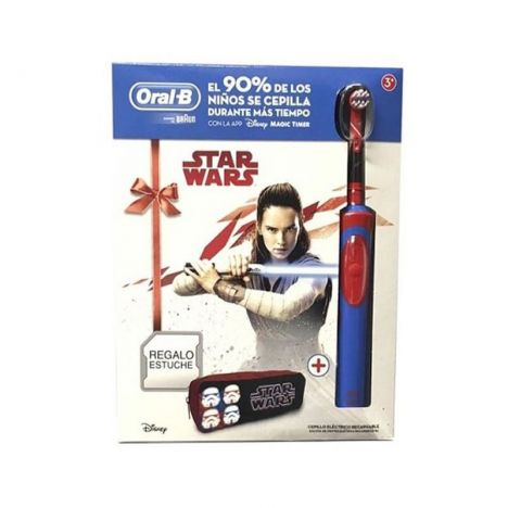 Oral B Pack Cepillo Electrico Star Wars + Regalo Estuche