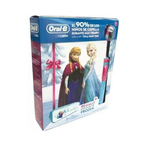 Oral B Pack Cepillo Electrico Frozen + Regalo Estuche