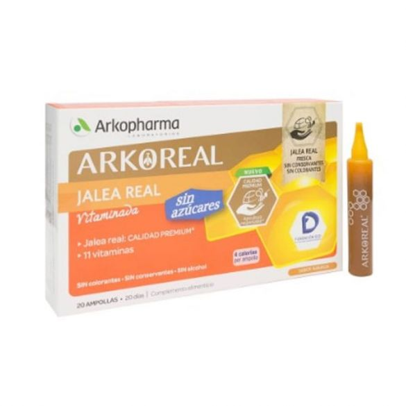 Arko Jalea Real 1000mg Light 20 Ampollas