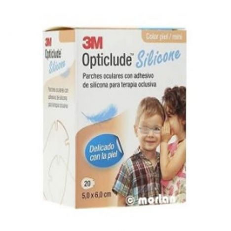 3M Opticlude Silicona Mini 20 Parches Oculares