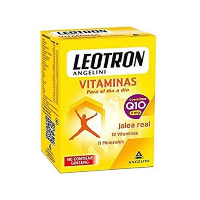 Leotron Vitaminas 90 Comprimidos (Sin Ginseng)+Q10