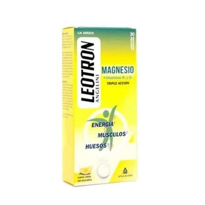 Leotron Magnesio 30 Comprimidos B1 + B6