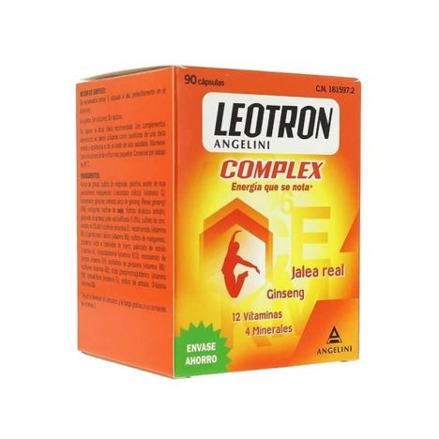 Leotron Complex 90 Comprimidos (Con Ginseng)