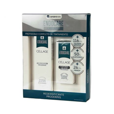 Endocare Pack Cellage Gel Crema + Contorno Ojos