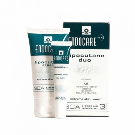 Endocare Lipocutane Duo Crema 50ml + Bálsamo Labial 10ml