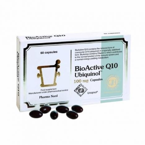 Activecomplex Bioactive Q10 Uniquinol 100mg 60 Capsulas