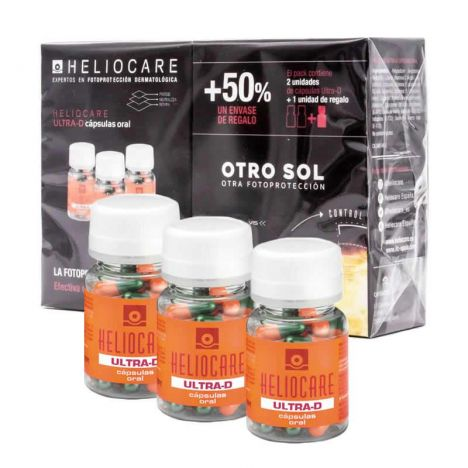 Heliocare Pack Ultra-D Cápsulas 3x30Uds