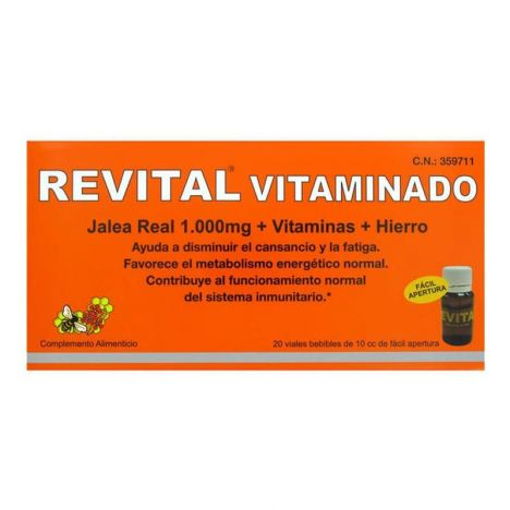 Revital Vitaminado 20 Viales