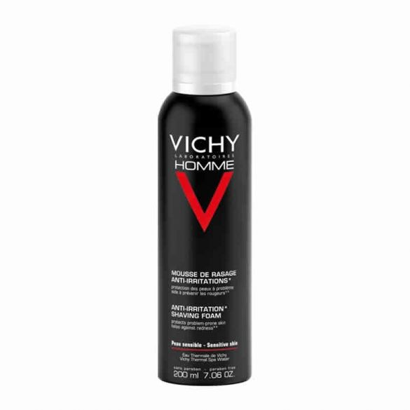 Vichy Hombre Espuma Afeitar Piel Sensible 200ml