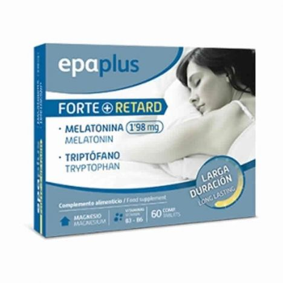 Epaplus Sleepcare Forte + Retard 60 Comprimidos