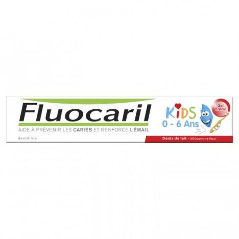 Fluocaril Kids 2 A 6 Años Sabor A Fresa 50ml