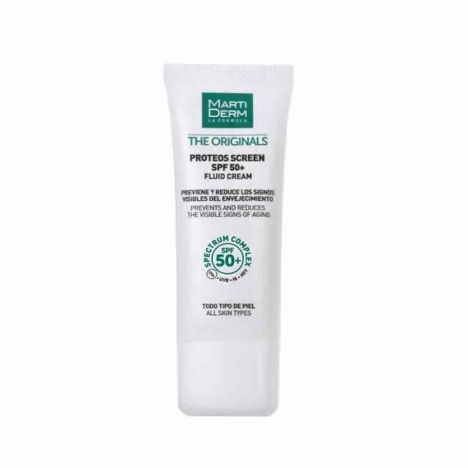 Martiderm Proteos Screen Fluid Cream SPF50+ 40ml