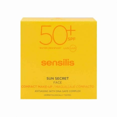 Sensilis Maquillaje Compacto Sun Secret Face SPF50 01 Natural 10gr