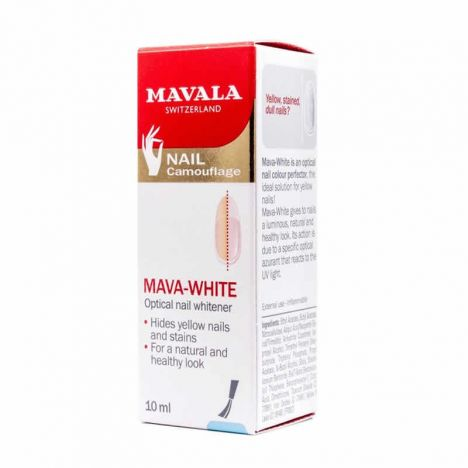 Mavala Mava-White Blanqueador Optico De Uñas 10ml