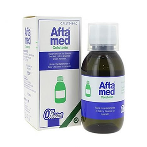 Aftamed colutorio frasco 150ml.