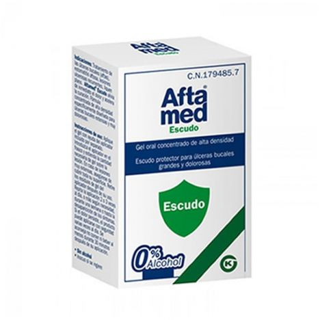 Aftamed escudo gel 10ml.