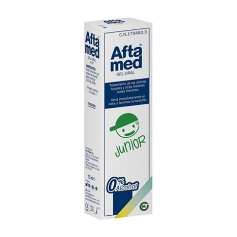 Aftamed junior gel bucal 15ml.