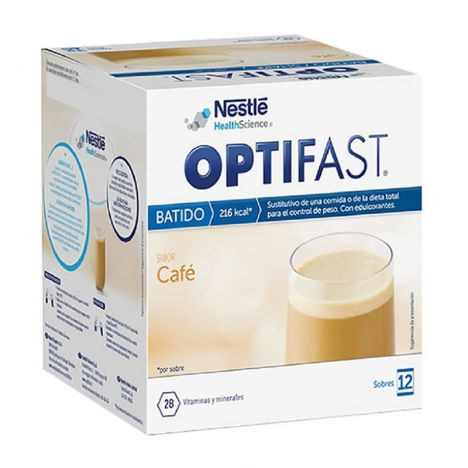 Optifast batido café 12 sobres