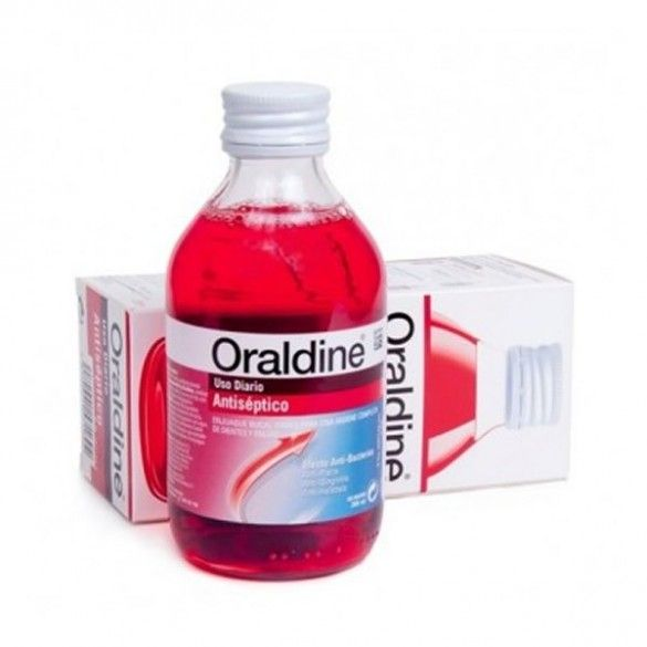 ORALDINE ANTISEPTICO COLUTORIO 200 ML