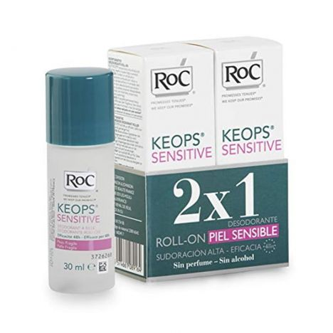 Roc Keops Desodorante Roll-On Sensible Duplo 2x30ml