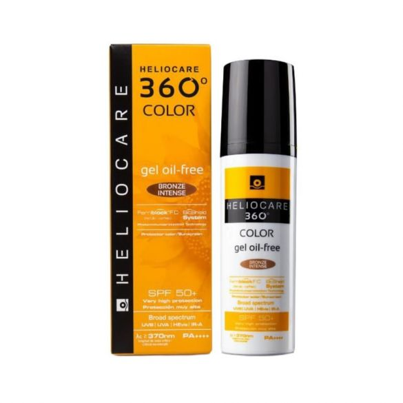 Heliocare 360º Oil Free Bronze Intenso 50ml