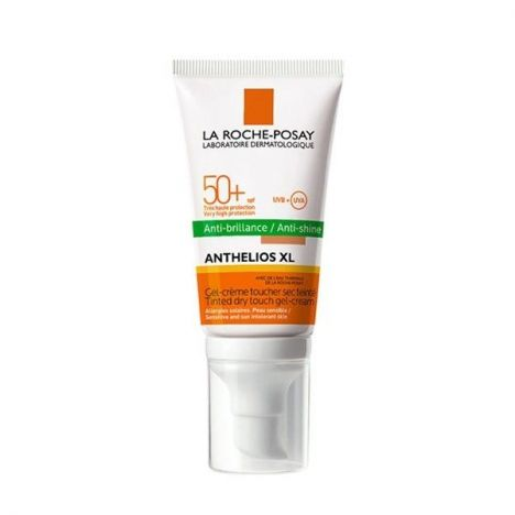 ANTHELIOS GEL CREMA 50+ CON COLOR TOQUE SECO 50ml.
