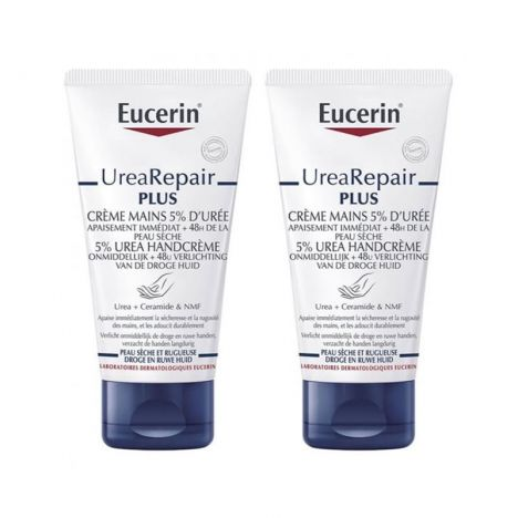 Eucerin Repair Crema Manos Urea 75+75ml