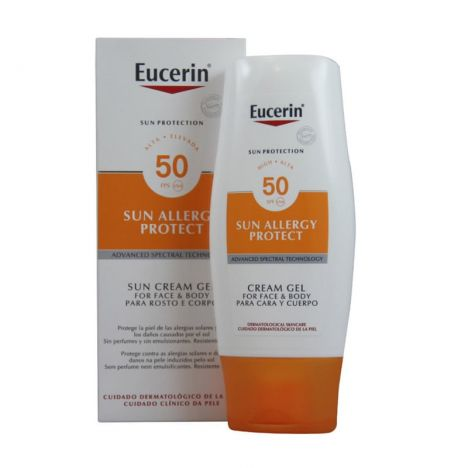 Eucerin Sol SPF50+ Allergy Loción 150 ml