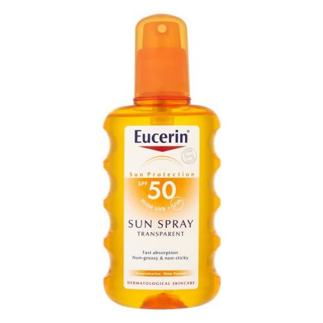 Eucerin Sol SPF50+ Spray Transparente 200 ml