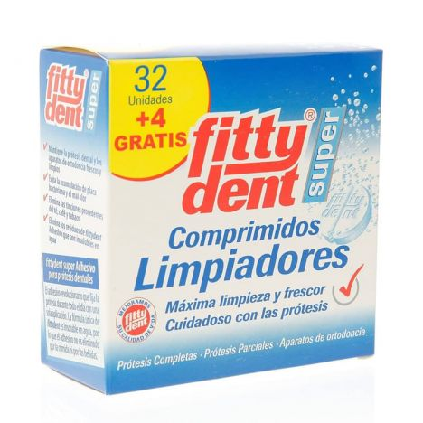 Fittydent Limpiador 32+4 Uds
