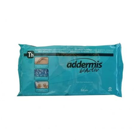 Addermis Biactiv 60 Toallitas Intimas