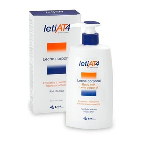 LETI AT4 LECHE CORPORAL 250 ML.