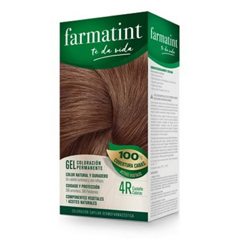 Farmatint 4 R Castaño Cobrizo 150 ml