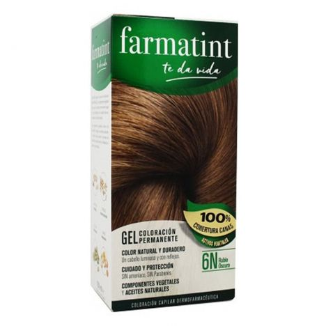 Farmatint 6N Rubio Oscuro 150 ml