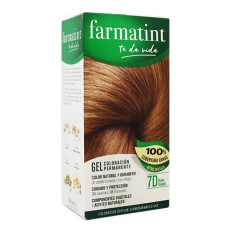 Farmatint 7 D Rubio Dorado 150 ml